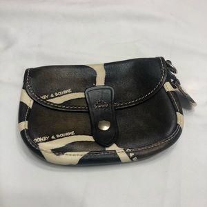 Vintage Dooney & Bourke leather pouch